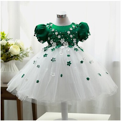 35e545aa0957c F-1 Vestido Bebe Robe Infant Easter Tutu Dress ,Newborn Baby girl Baby  Baptism Dressth of july Party dresses,infant Folwer girl