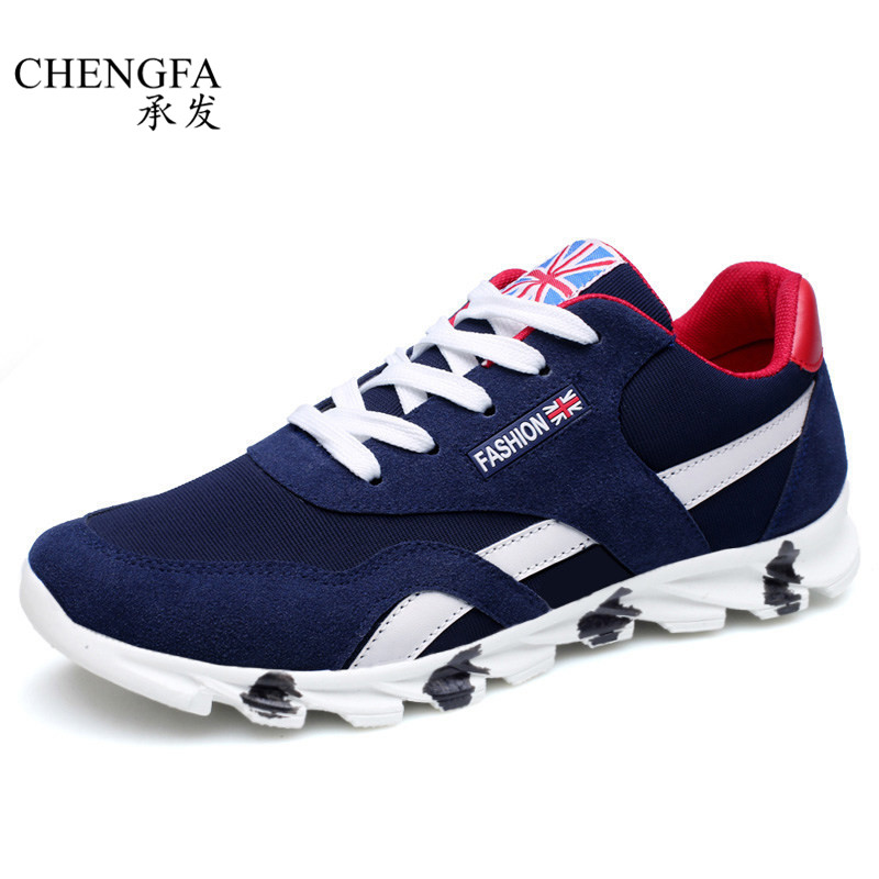 High Quality Men s Shoes Breathable 2017 Spring Summer Mesh Lace up Men Casual Shoes Platform
