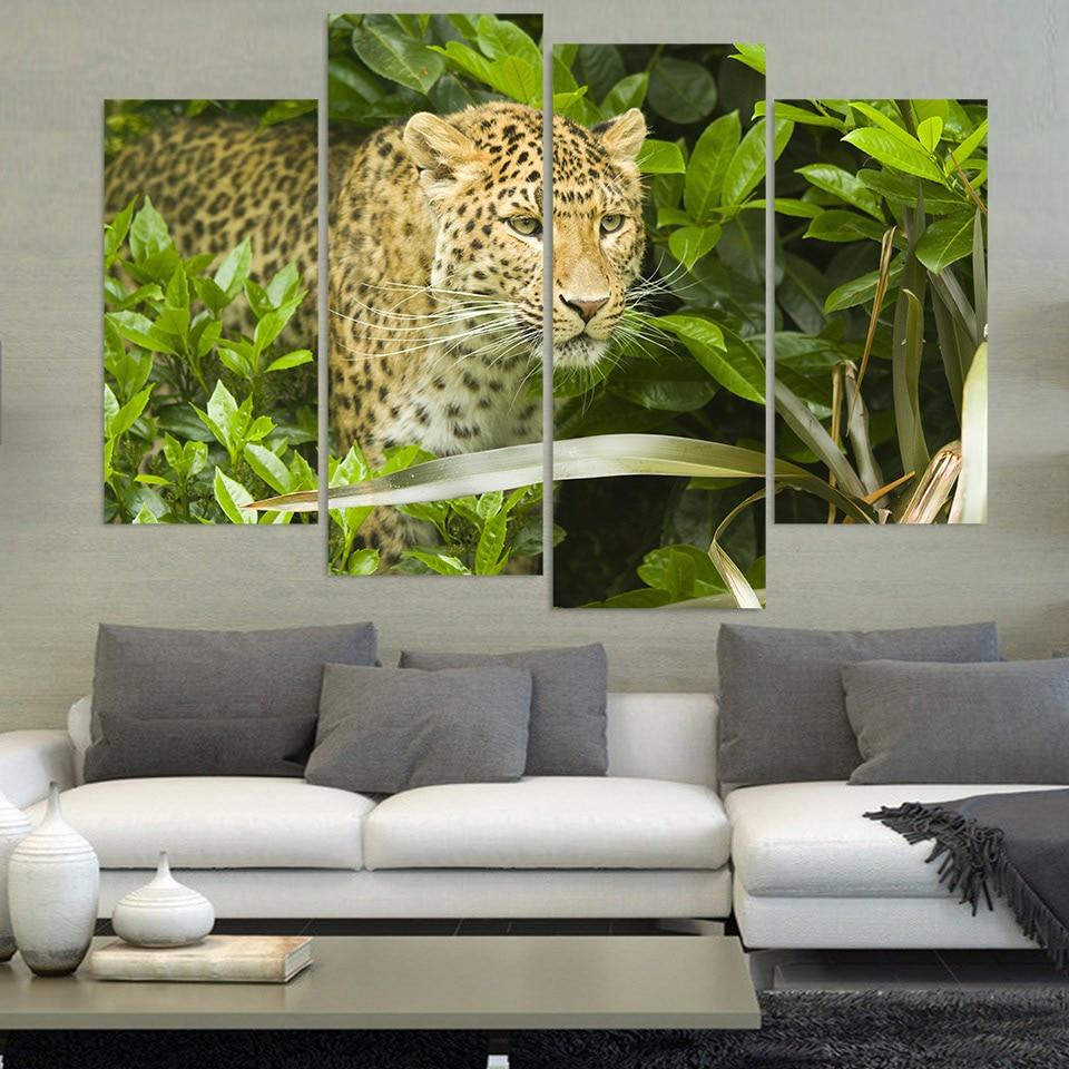 Leopard Print Living Room Decor Online Buy Wholesale Leopard Posters From China Leopard Posters