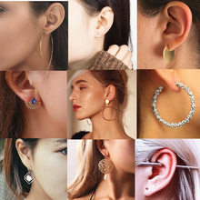 Ufavoirte Fashion Multi-Color round Drop Earrings Women Gold Color Maxi Statement Wedding Party Jewelry Christmas