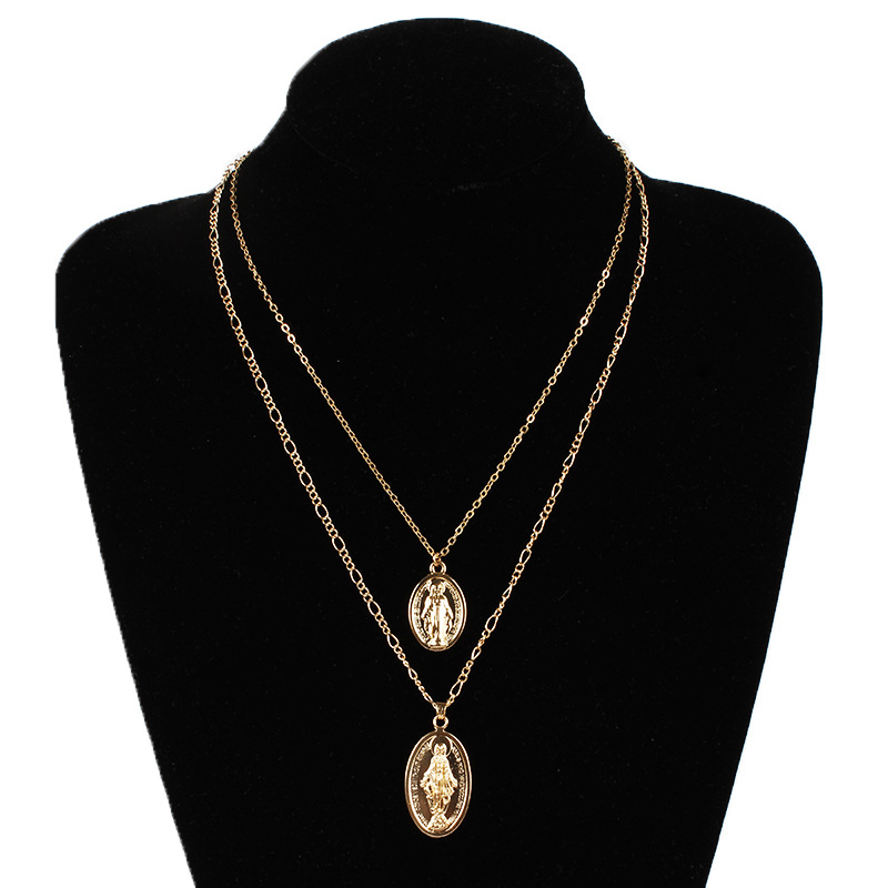 Classic fashion Religious Style Gold Chain Christian ...