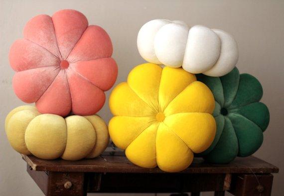 Round Pumpkin Pillow Cushion With Filling Waist Pillow Car Sofa Bedding Room Home Dec Wholesale Wholesale FG1027