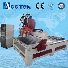 Jinan AccTek 1325 multi-head wood engraving machine