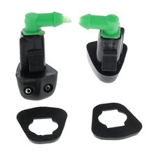 2 Pieces Car Wiper Water Spray Jet Washer Nozzle for 1998 - 2002 Honda Accord S84 C02