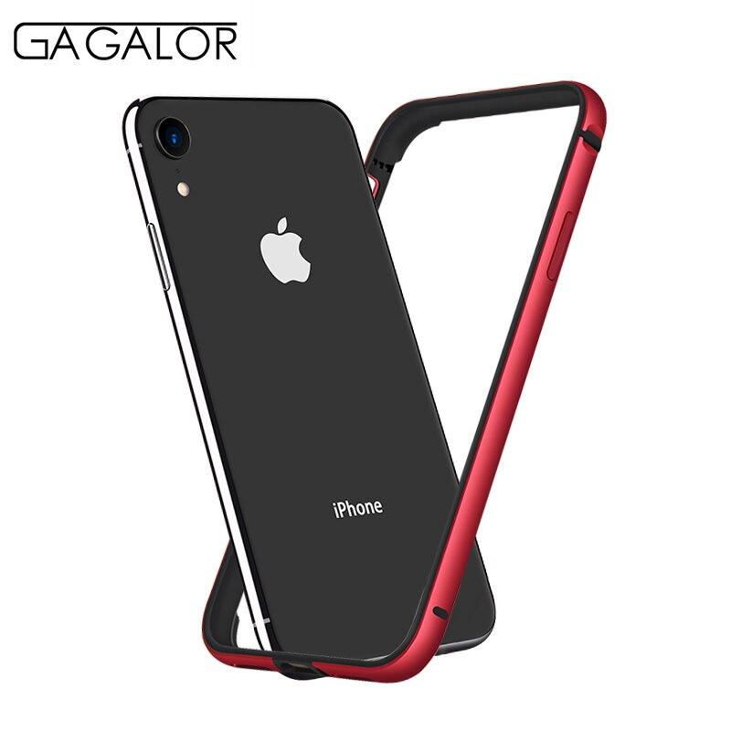 GAGALOR metal bumper for iPhone XR phone case 6.1