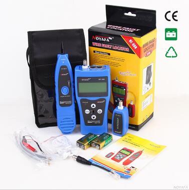 Livraison Gratuite! NOYAFA NF-308B réseau Ethernet LAN testeur Tracker téléphone 5E 6E RJ45 11 fils USB câble coaxial - 5