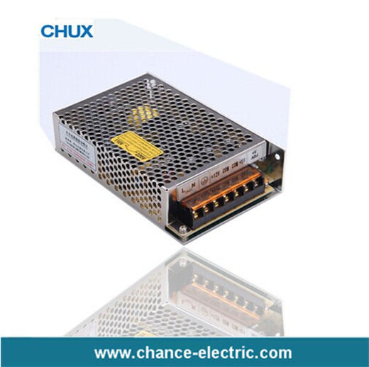 Dual output Two group  DC 3A 2A LED  switching mode power supply 5v 24v 50w D-50W Smps (D-50B)