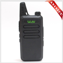 WLN KD-C1 Walkie Talkie UHF 400-470 MHz 5W Power 16 Channel  MINI-handheld Transceiver