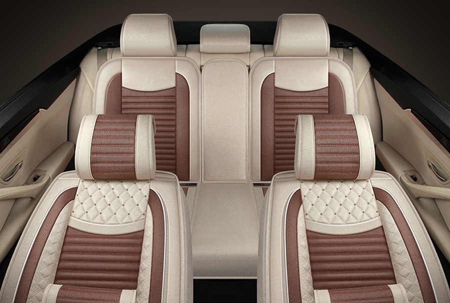 Housses de siège de voiture spéciales en lin (avant et arrière) pour Lexus GX470 GX460 RC-F HS250h RX400h RX450h RX350 ES350 ES240 ES250