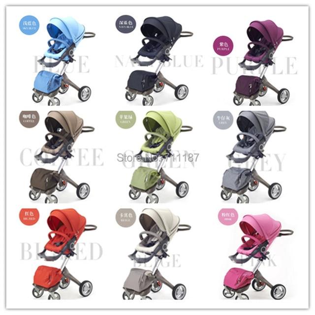 Hot-selling New Brand DSLAND Baby Stroller 3 in 1 ,Good Stroller,Enjoy Big Discount,9 Colors