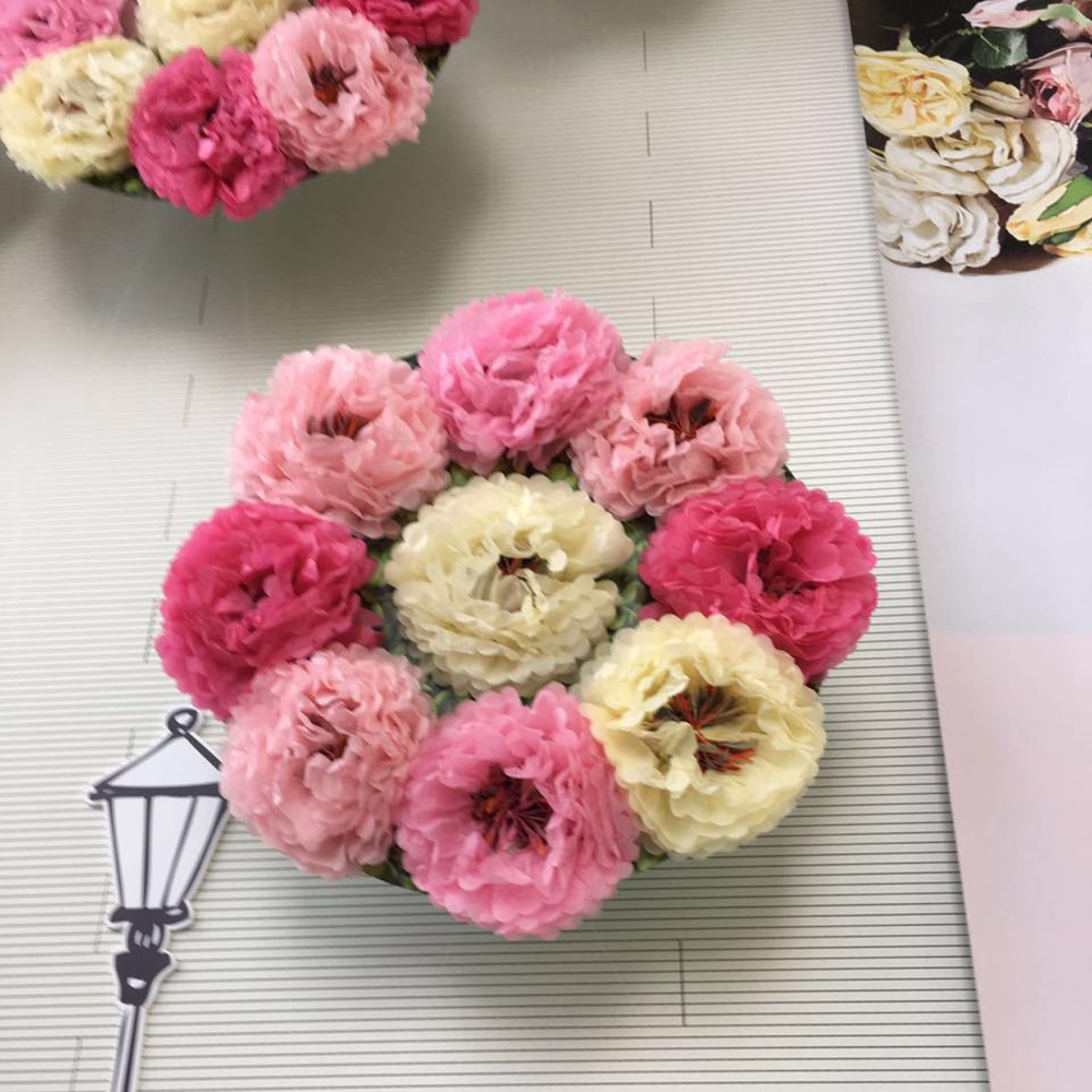 1pc Giant 1435cm Chrysanth Flowers Tissue Pom Poms Paper Flower