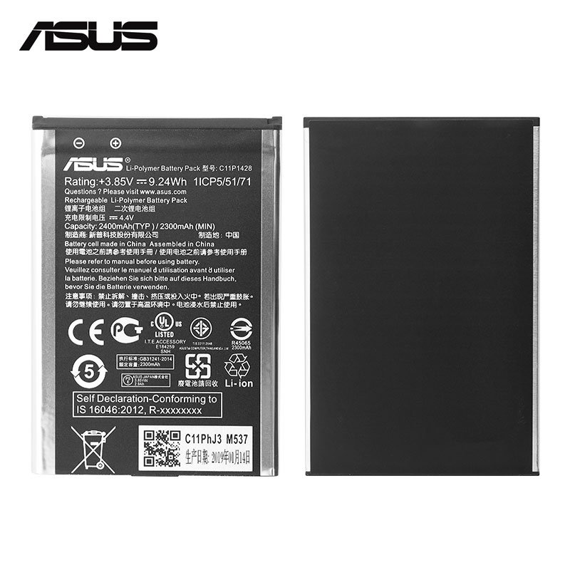 "Image 3 - ASUS Original Replacement Phone Battery C11P1428 2400mAh for Asus ZenFone 2 Laser ZE500KL ZE500KG Z00ED 5"" Free Tools-in Mobile Phone Batteries from Cellphones & Telecommunications"