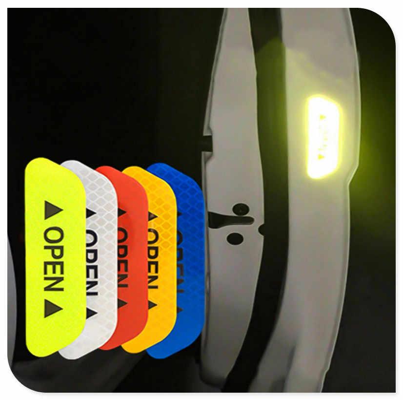 Drzwi samochodu otwarta taśma odblaskowa ostrzeżenie naklejka na hondę Pilot Insight HR-V CR-V Odyssey Jazz Fit sport Ridgeline