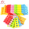 Beauty Nail Art  & Feet Care 60pcs/lot EVA Foam Nail Art tools Finger Bracket Nail & Toe seperators Manicure Pedicure Tools