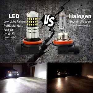 Image 2 - VANSSI 1400 Lumens Extremely Bright 1020 Chips 9006 HB4 H10 9140 9145 H16 H11 H8 LED Fog Light Bulbs, 6000K White,2 Pieces