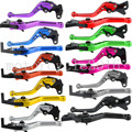 For Honda CBR 600 F2,F3,F4,F4i 1991-2007 92 93 94 95 96 97 98 05 06  CNC Short Adjustable Racing Brake Clutch Lever  10 Colors
