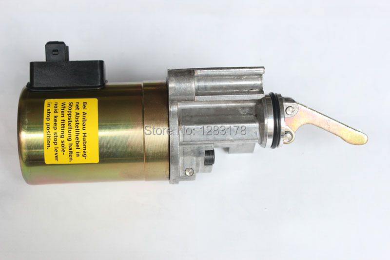 Deutz 1012 Fuel Shutdown Solenoid Valve 0419 9900 / 04199900 12V fuel shutdown solenoid valve 24v 0419 9903 04199903 for beutz bfm1013