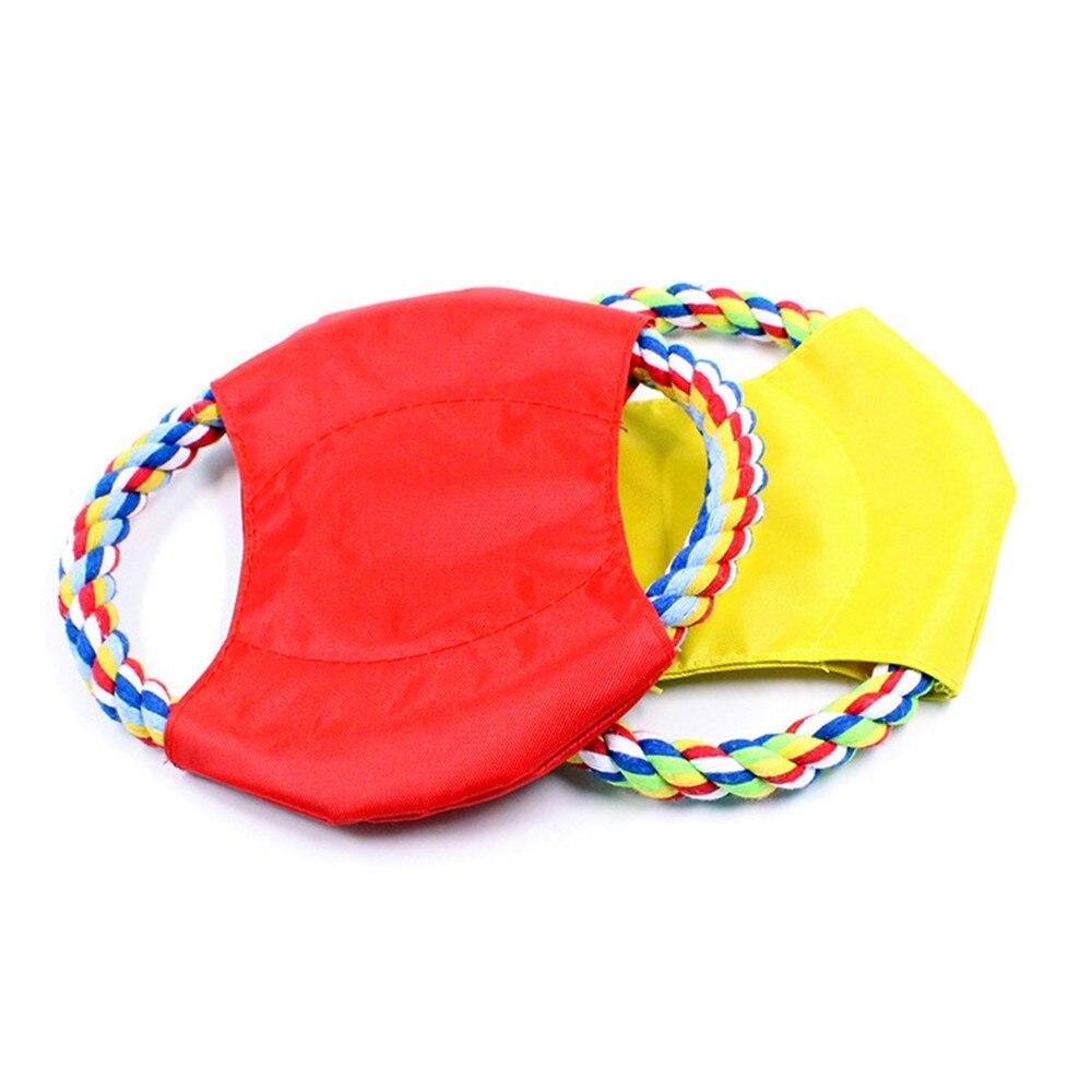 1 шт. Хлопок Веревка Холст собака игрушка для щенок зуб обучение действием для интерактивные игры домашних животных