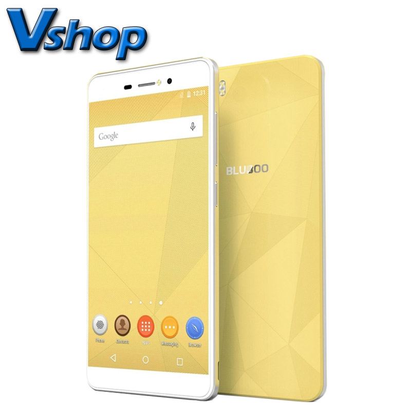Original BLUBOO Picasso 3G 4G Mobile Phones Android 6.0 2GB RAM 16GB ROM MTK6580 Quad Core 13.0MP Dual SIM 5.0 inch Cell Phone