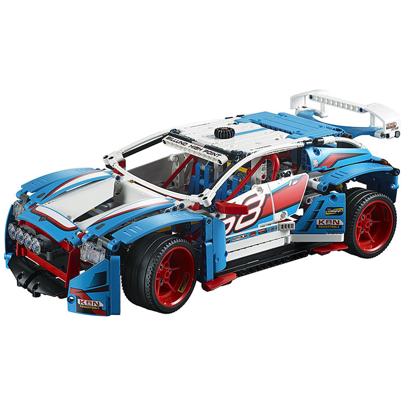 LEPIN 20077 1085pcs Technic Series The Rally Car Model Building Block Diy Brick Educational Toy For children Gift 42077 building blocks stick diy lepin toy plastic intelligence magic sticks toy creativity educational learningtoys for children gift