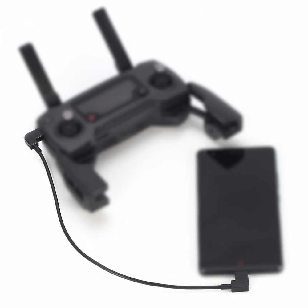 Kabel Data untuk DJI Spark Mavic Pro Platinum Udara Pengendali Mikro Usb Ke Tipe C Adaptor Port Tali untuk ponsel Pintar Tablet Seksi Penjualan