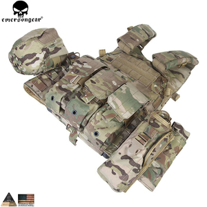 Image 4 - EMERSONGEAR LBT Tactical Weste Mit Mag Pouch Molle Chest Rig Weste Airsoft Paintball Military Armee Kampf Weste Multicam EM7440