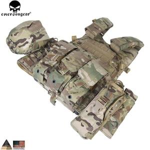 Image 4 - EMERSONGEAR gilet tactique LBT avec pochette Mag Molle, gilet de sangle de poitrine, gilet de Combat militaire Airsoft de Paintball, Multicam EM7440