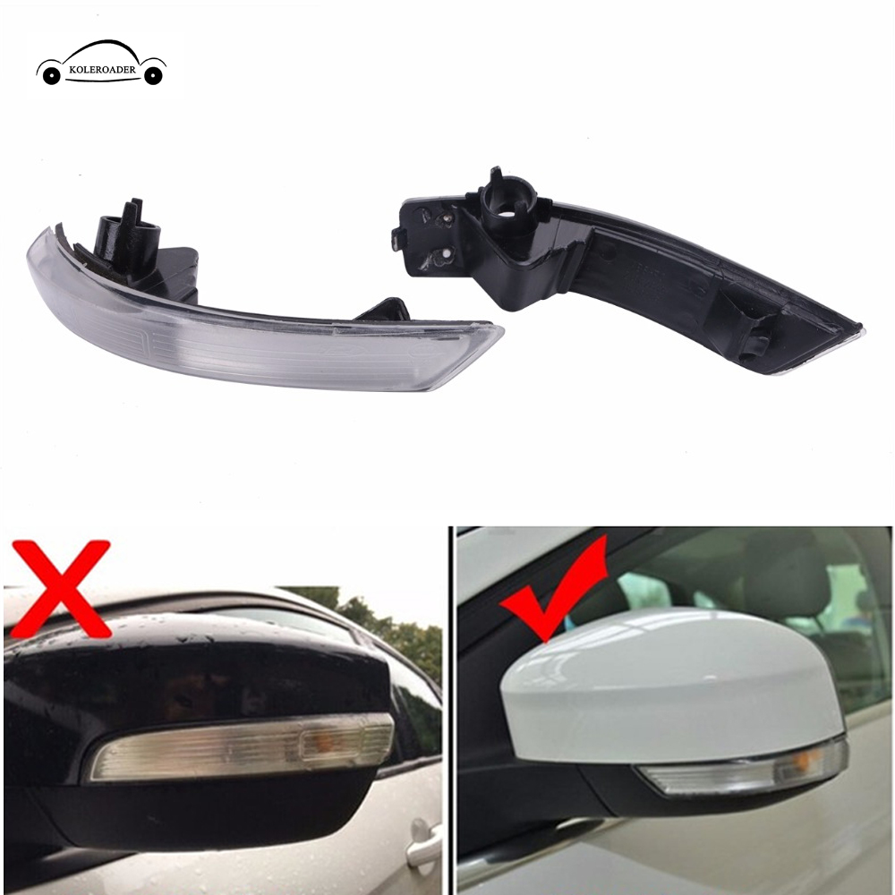 For Ford Focus Mondeo 2008 -2016 LED Side Indicator Turn Signal Lights Rearview Mirror Light Lamp Lens II III HATCHBACK SALOON / ford focus ii руководство по ксплуатации техническому обслуживани и ремонту