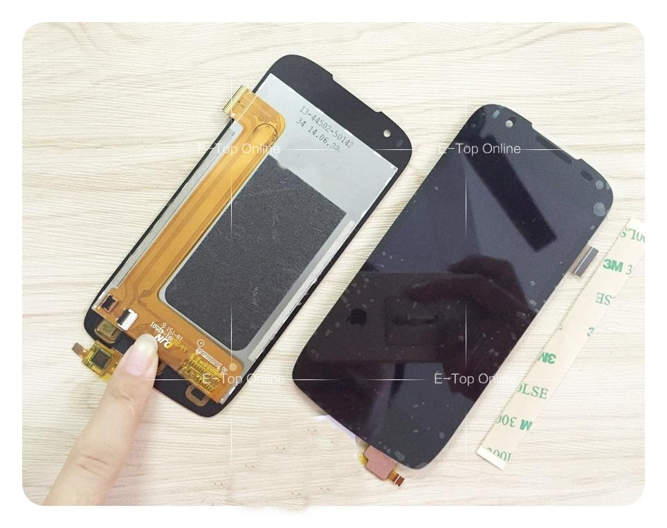 ФОТО Black Screen For Positivo S480 Touch screen Digitizer Sensor with LCD Display Screen Assembly