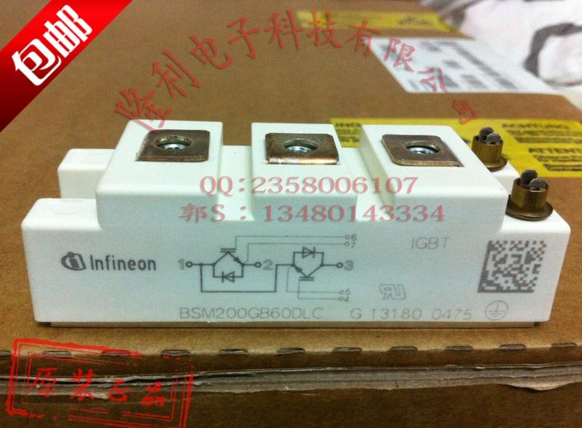 BSM200GB60DLC new genuine authentic/IGBT power module. brand new genuine authentic qm75e2y h 75a darlington power module
