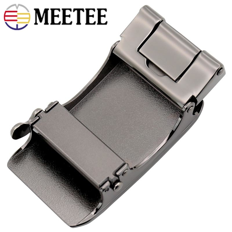 1Pc Fashion Metal Belt Buckles Belt Head For Men 39 s Automatic Buckles For Belt 34 35mm DIY Leather Craft Jeans Belt Accessories in Buckles amp Hooks from Home amp Garden