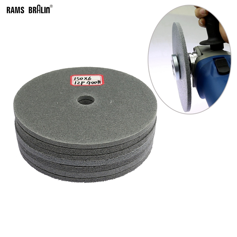 1 piece 150mm Supper thin Nylon Polishing Disc for Stainless Steel Welding Spot Slot Grinding-in Abrasive Tools from Tools