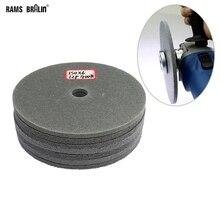 Disco de polimento de nylon de suporte 150mm, disco para aço inoxidável, moagem de ponto de soldagem, 1 peça