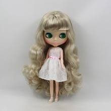 Factory Neo Blythe Doll Silver Grey Hair Regular Body 30cm