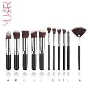 YUKARI 11PCS synthetic Makeup