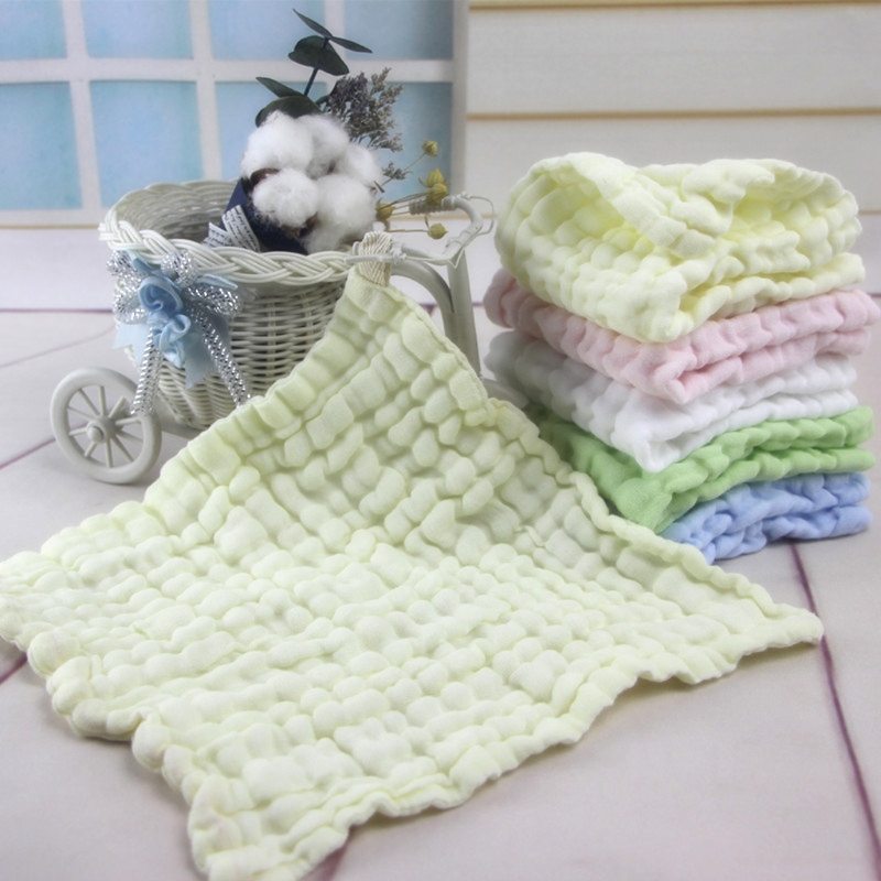 2018 New Arrival Soft Cotton Baby Infant Newborn Handkerchief Towel Washcloth Feeding Wipe Cloth