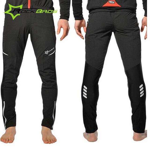 c455de70a1ad RockBros Summer Cycling Pants Male Mtb Mountain Bike Trousers Breathable  Reflective Downhill Bicycle Long Sport Pants Men Women