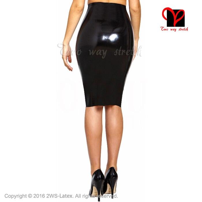 0224e23b43e54c € 68.21  Sexy noir longue Latex jupe crayon en caoutchouc jupe Gummi jupe  combishort moulante XXXL grande taille pour les femmes fonds QZ 060 dans ...