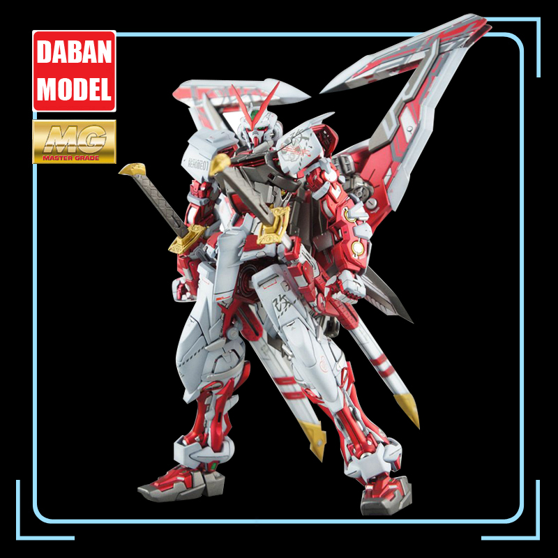 DABAN Gundam Model  IN-Stock Assembly MG 1/100  Astray Red Heresy Frame Gundam ROBOT Figure Anime Toys Figure Gift
