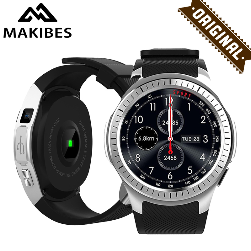 Makibes G05 Pro GPS multi-sport di Sport Della Vigilanza di Bluetooth 4.0 Astuto Della Vigilanza del Monitor di Frequenza Cardiaca Chiamata Messaggio di Promemoria per IOS Android