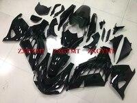 Fairings for for Kawasaki Zx14r 2012 2015 Fairing Kits Zx14 Zx 14r 2012 glossy Black Plastic Fairings ZZ R1400 12 13