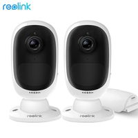 Reolink Argus 2 WiFi Camera 1080P Rechargeable Battery Powered IP65 Weatherproof Wireless Scurity Cam 2 Pack
