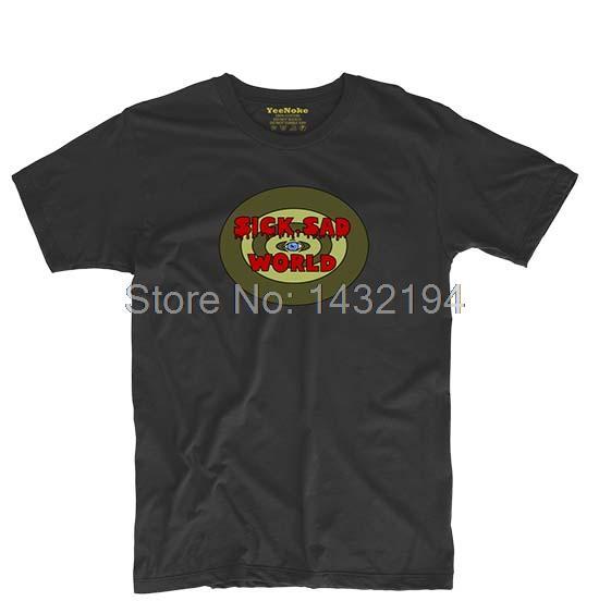SICK SAD WORLD Mens & Womens Personalized T Shirt Custom T Shirt