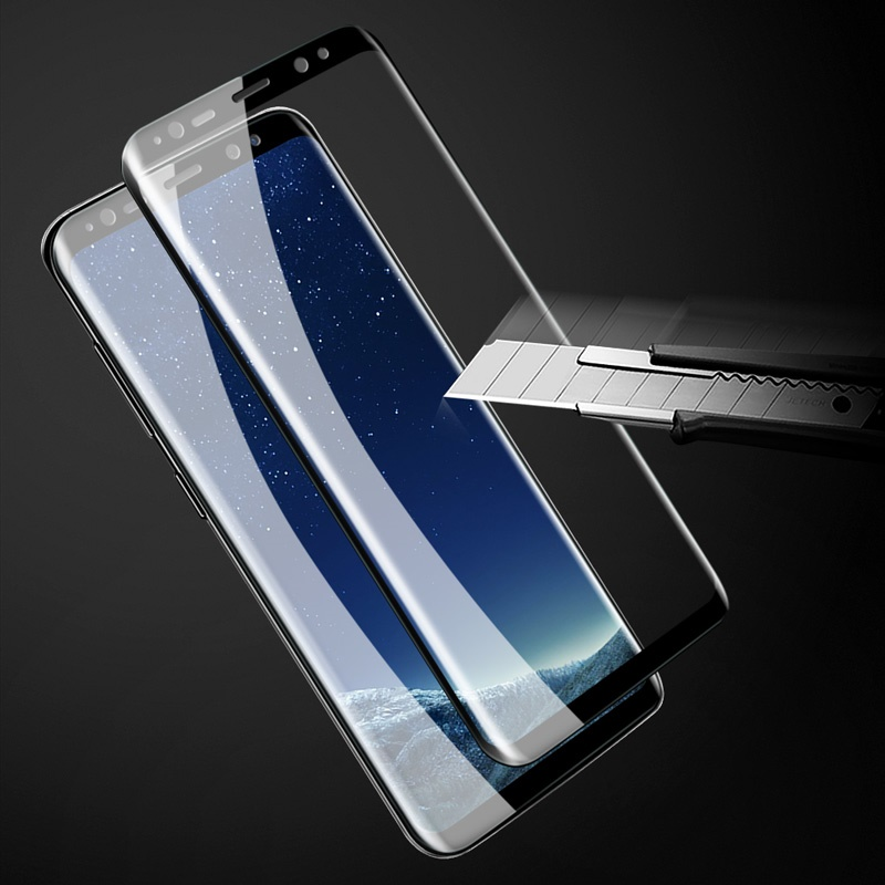 X-LEVEL Tempered Glass for Samsung Galaxy S8 3D Curved Complete Covering Tempered Glass Screen Protector for Galaxy S 8