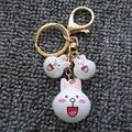 Rabbit Keychain -Hot Sale Cute Anime Cartoon Key Chain Bunny Key Ring Christmas Gift Women Men Bag Charm Jewelry Pendent