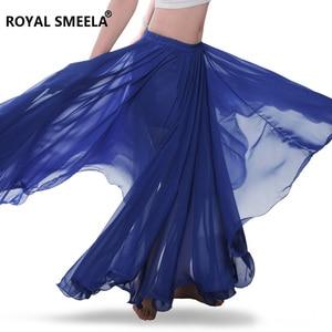 Image 4 - Femmes nouveau design 720 degrés ondé danse du ventre jupe bellydance robe danse tissu pratique porter performance danse du ventre costume