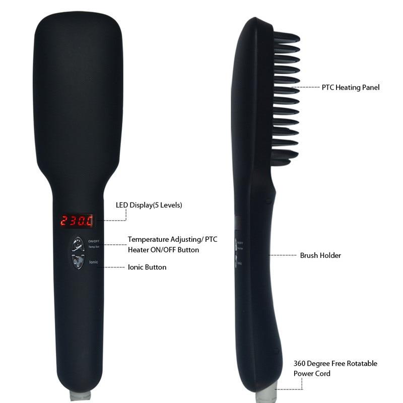 escova penteado seda suave ferramenta