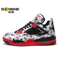 Trendy Shoes Men 2019 Brand Mens Basketball Shoes Fashion Light Training Basketball Sneakers Men Cushioning Jordan Shoes Basket