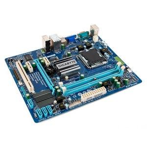 Image 2 - Gigabyte GA G41MT S2 Desktop Motherboard G41MT S2 G41 Socket LGA 775 For Core 2 DDR3 8G Micro ATX Original Used Mainboard