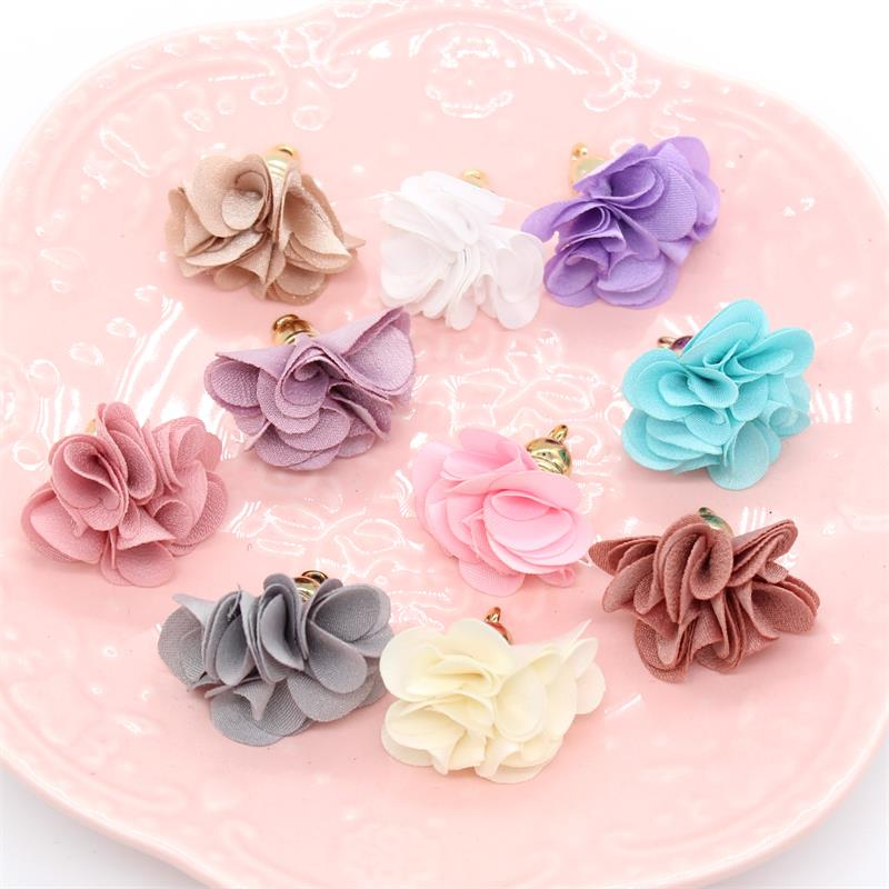 Kscraft 10pcs Cute Flowers Tassels For Scrapbooking Happy Planner/card Making/journaling Project Diy Craft Arts,crafts & Sewing Scrapbooking & Stamping
